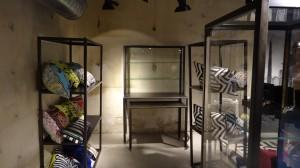 Mobilier créé pour Christian Lacroix, Paris.